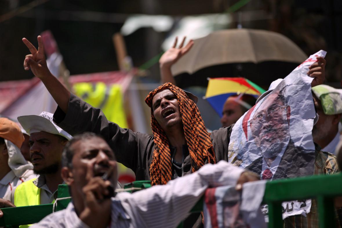 Příznivci exprezidenta Mursího