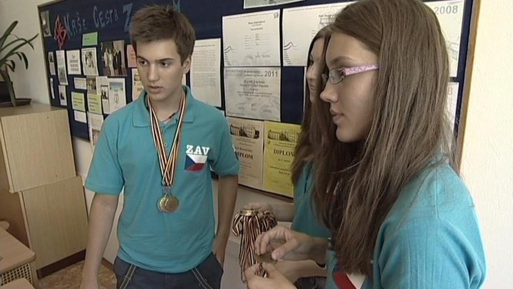 Žáci z opavské základní školy Šrámkova
