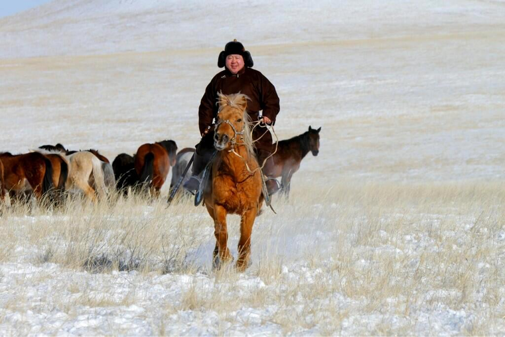Mongolský prezident Cachjagín Elbegdordž