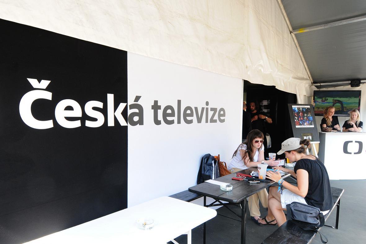 Česká televize na Colours of Ostrava 2013