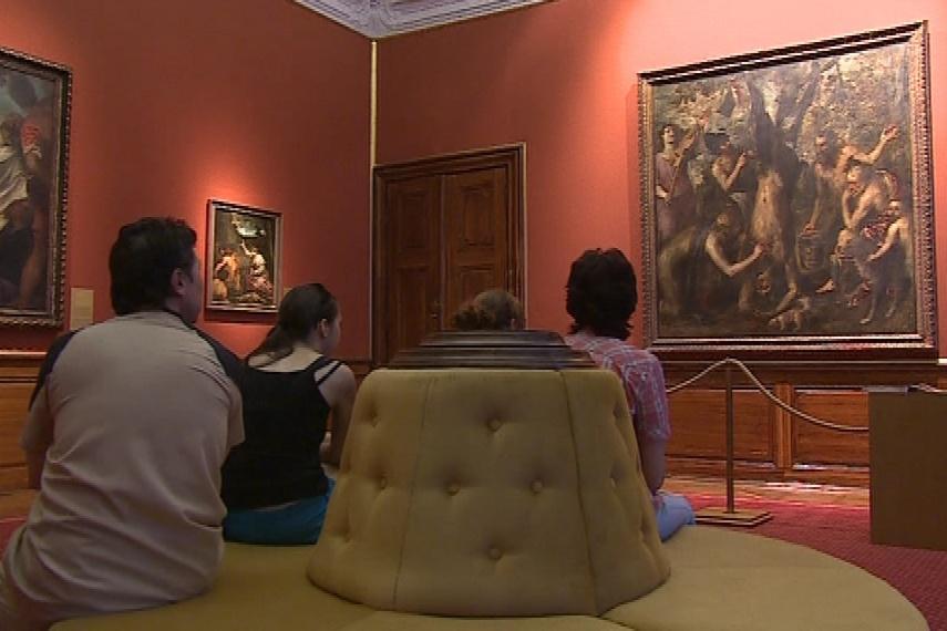 Návštěvníci uvidí Tizianův obraz v novém nasvícení