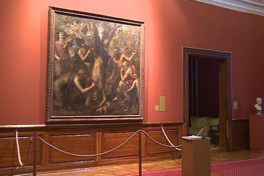 Tizianův obraz Apollo a Marsyas je klenotem českých sbírek