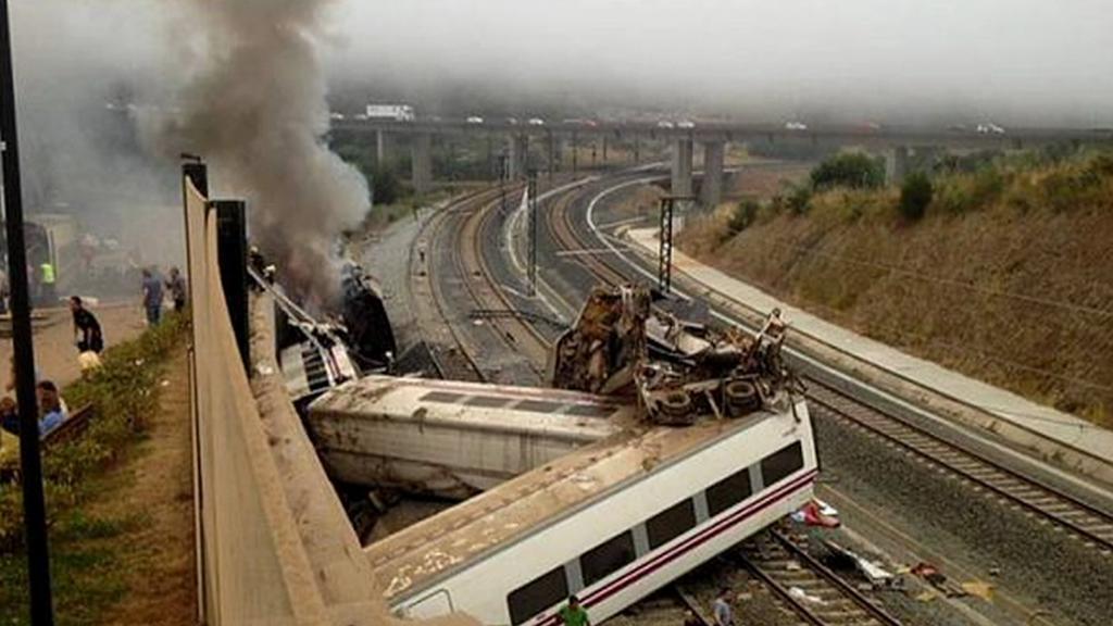 Vlakové neštěstí ve Španělsku