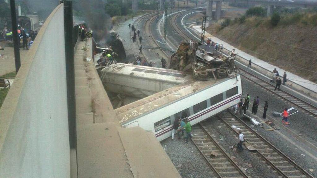 Nehoda vlaku u Santiaga de Compostela