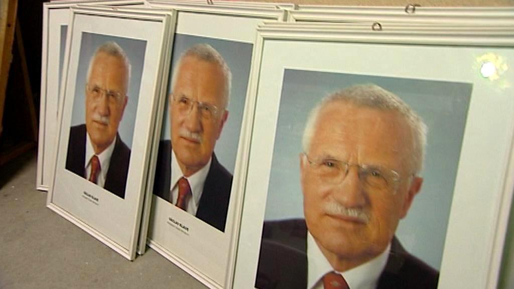 Portréty exprezidenta Václava Klause