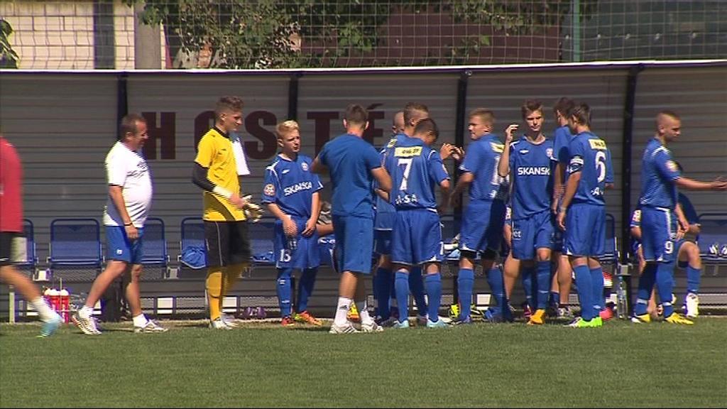 Dorostenci Zbrojovky dokázali porazit výběr Čech 1:0