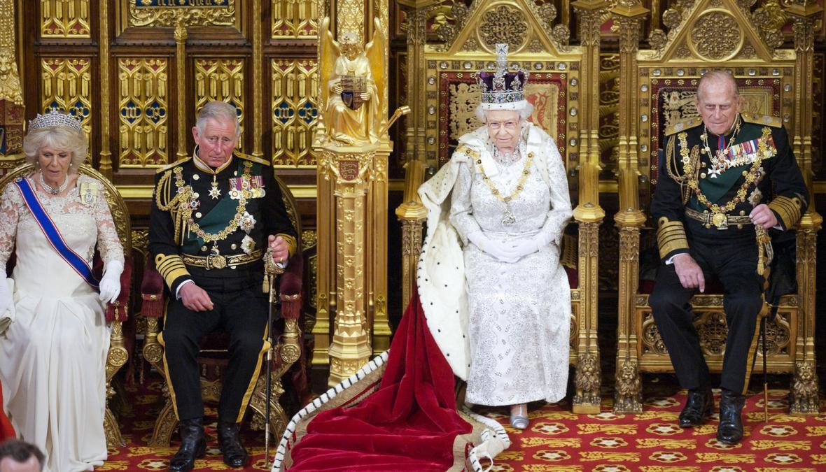 Slavnostní otevření britského parlamentu
