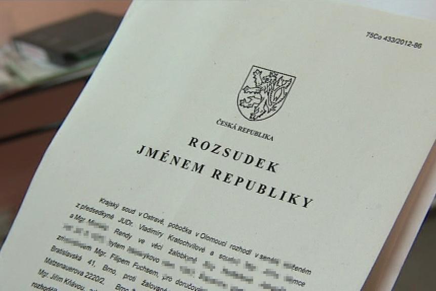 Krajský soud v Ostravě vydal přelomový rozsudek
