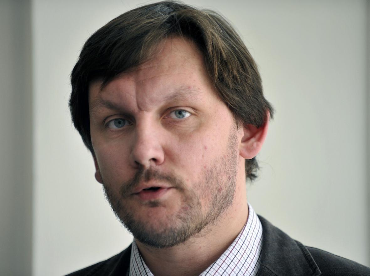 Místopředseda SPOZ Radek Augustin