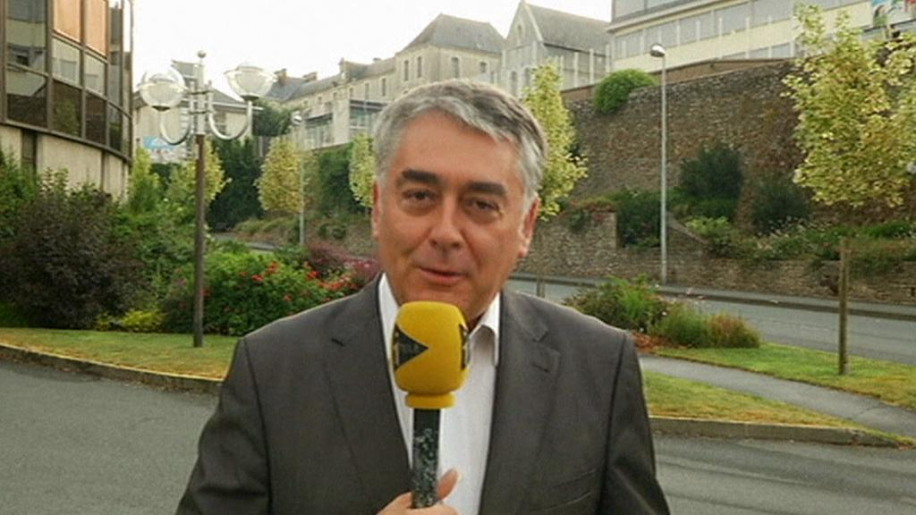 Zástupce starosty Gilles Bourdouleix