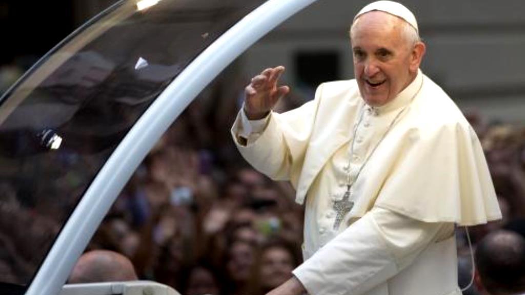 Papež František v Brazílii