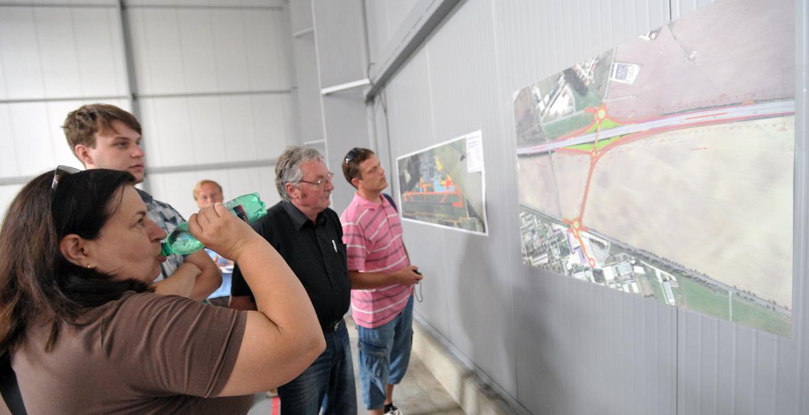 Plány a mapy budoucího stavu letiště