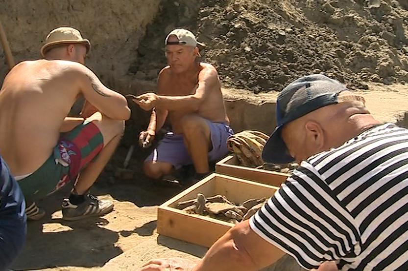 Archeologové odkryli příkop, který obklopoval hradiště
