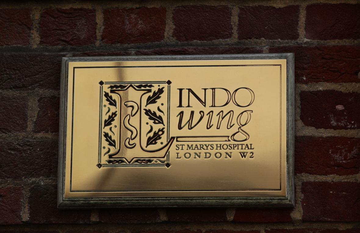 Křídlo Lindo v nemocnici Svaté Marie