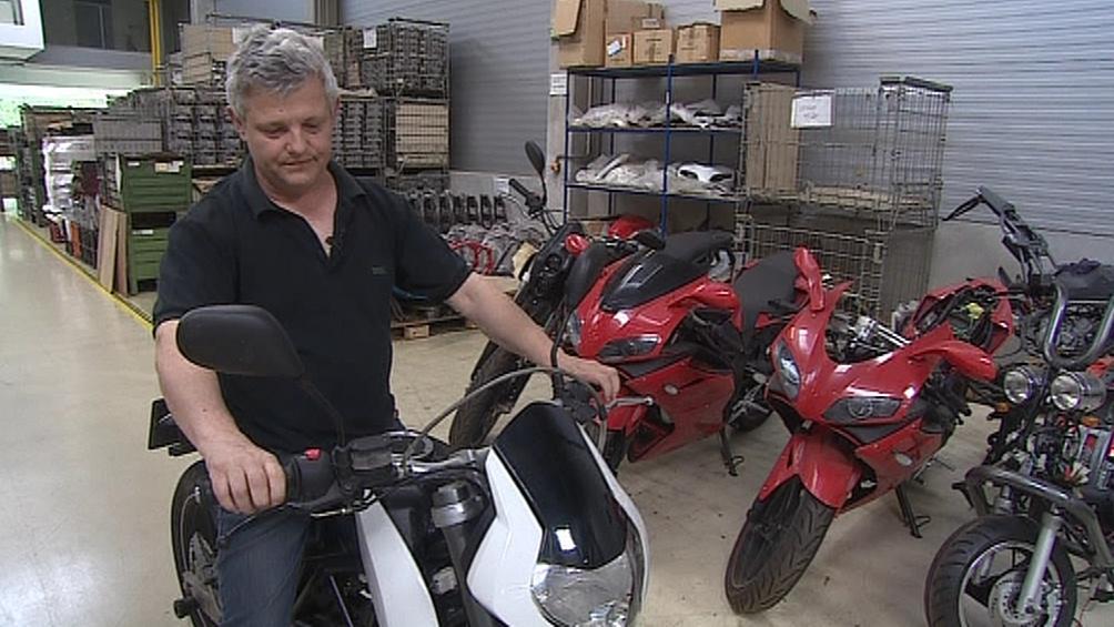Výrobce minibiků Pavla Blatu trápí čínští padělatelé jeho modelů