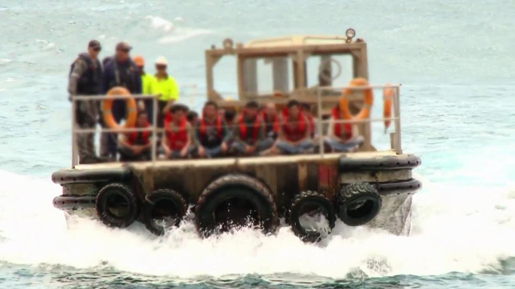 Uprchlíci směřující do Austrálie