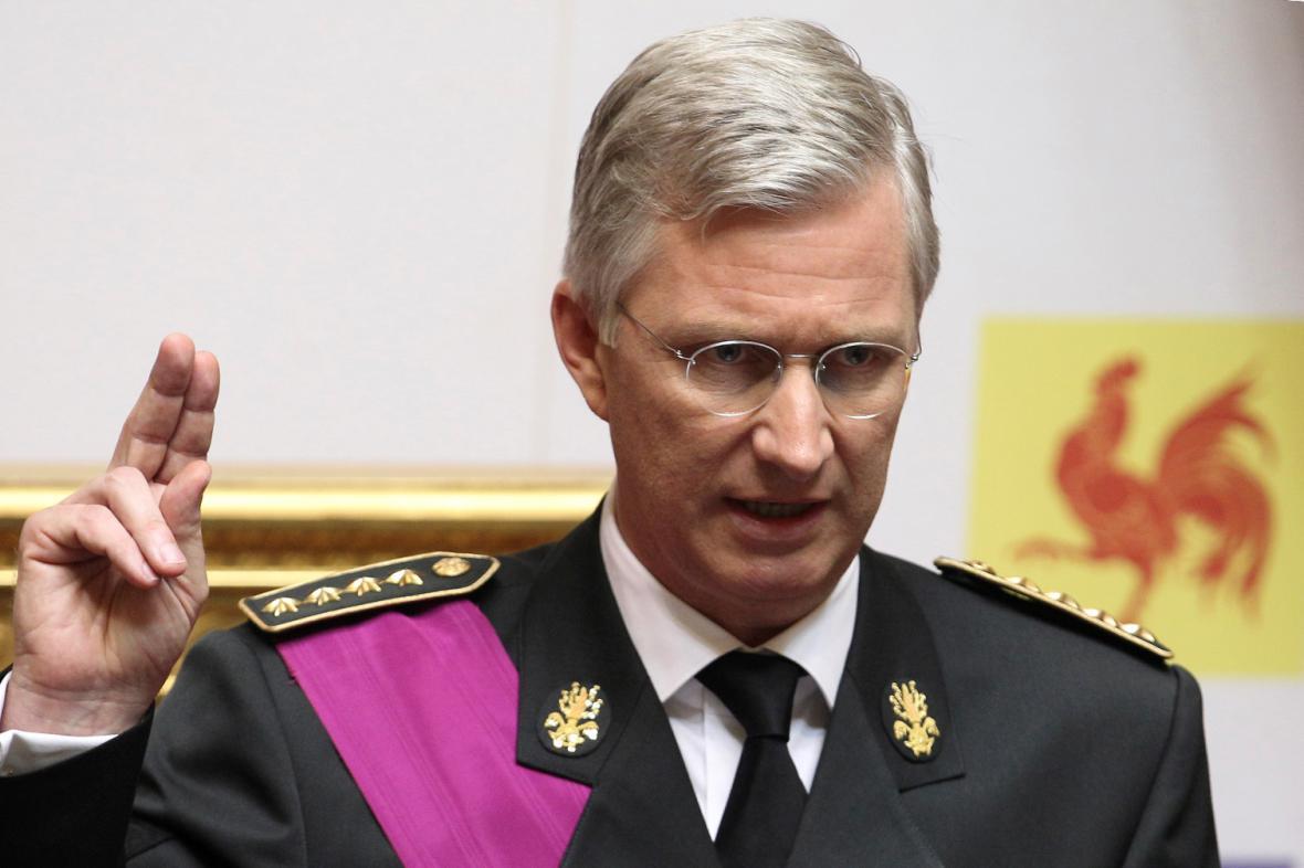Nový belgický král Phillippe