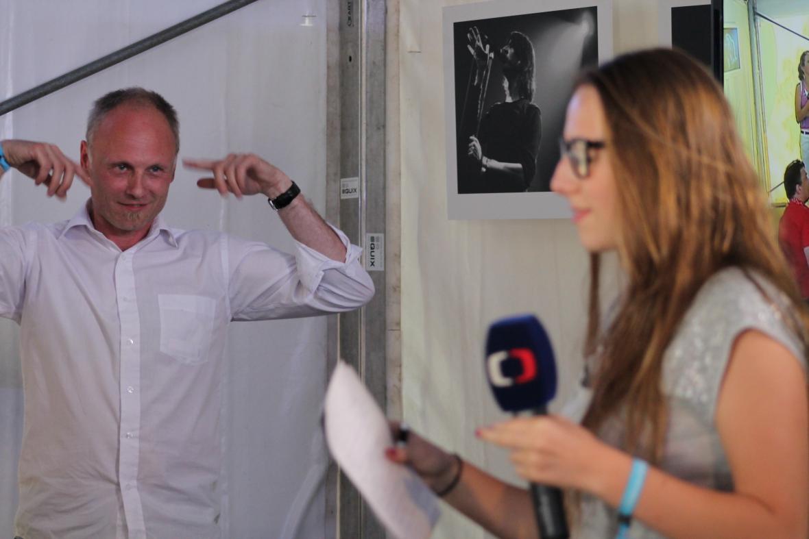 Petr Vizina uděloval cenné rady