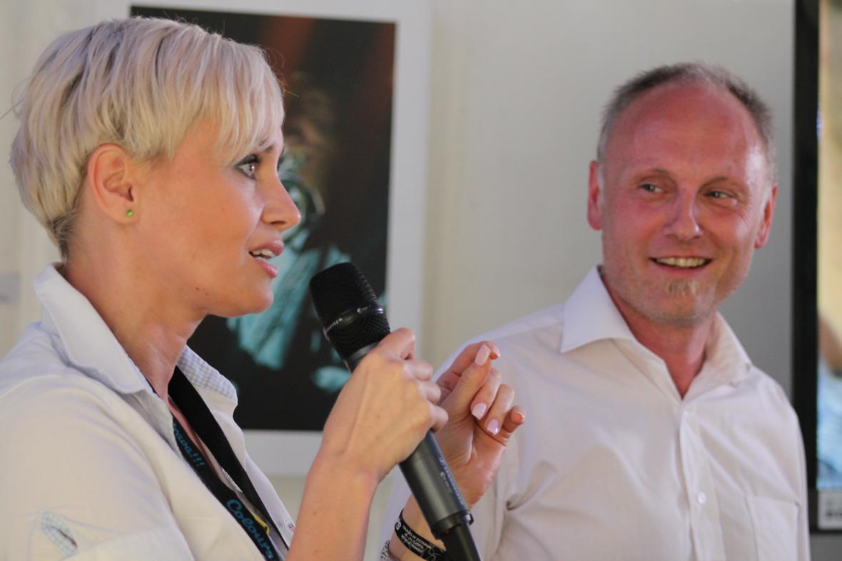 Gabriela Lefenda a Petr Vizina workshop okořenili i veselými historkami z natáčení