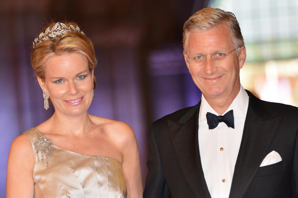 Princ Philippe s manželkou Mathilde