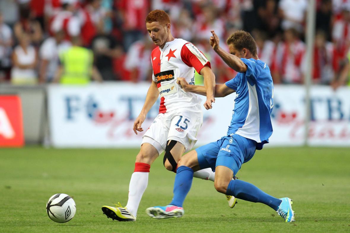 Zápas Slavia - Baník