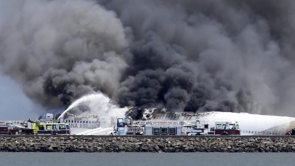 Nehoda letadla v San Fracisku