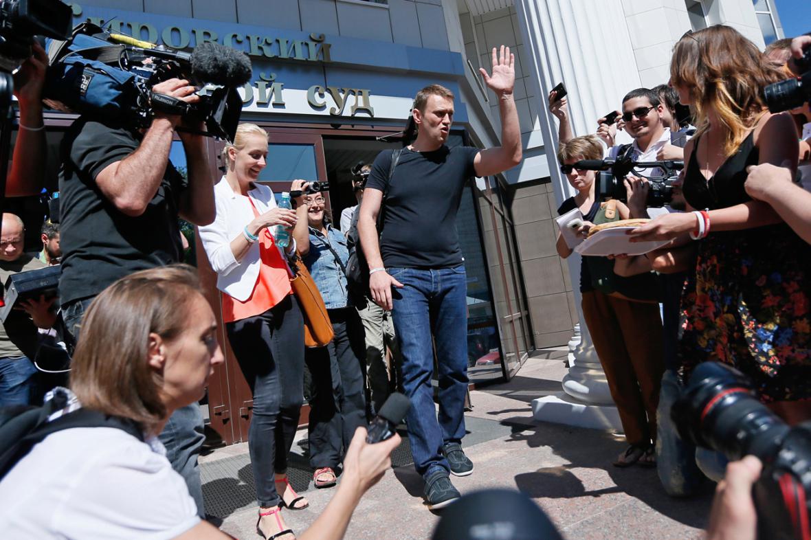 Alexej Navalnyj byl propuštěn z vazby