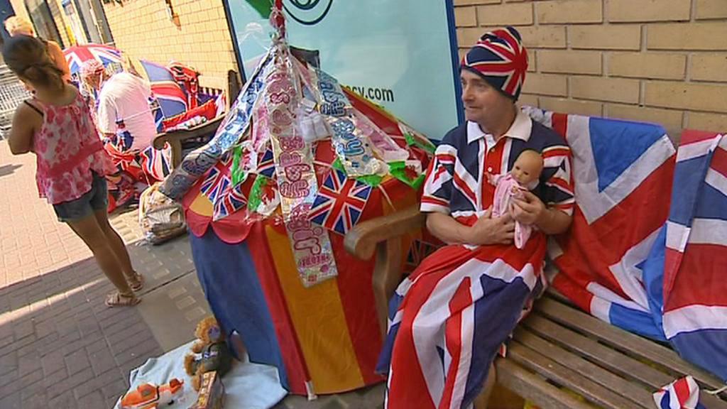 Britové čekají na narození královského potomka