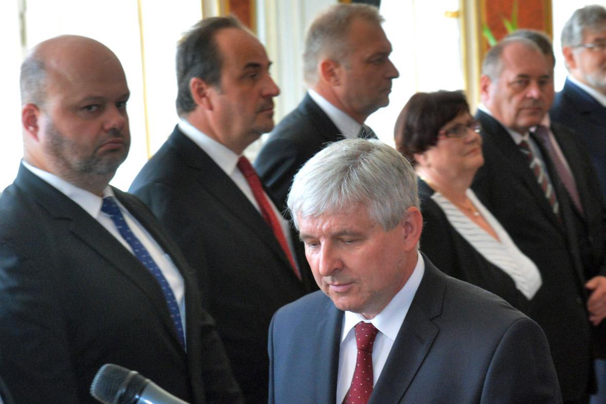 Vláda Jiřího Rusnoka
