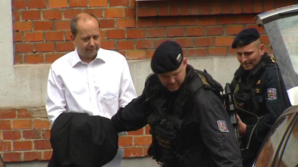 Bývalý poslanec ODS Marek Šnajdr v rukou policie