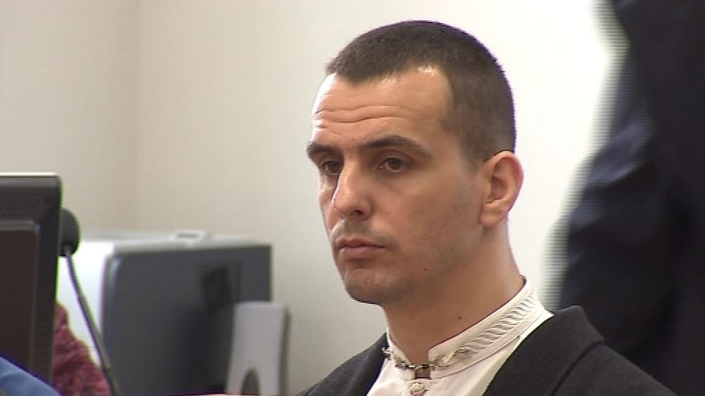 Bývalý elitní policista Martin Foltýn u soudu (archivní snímek)