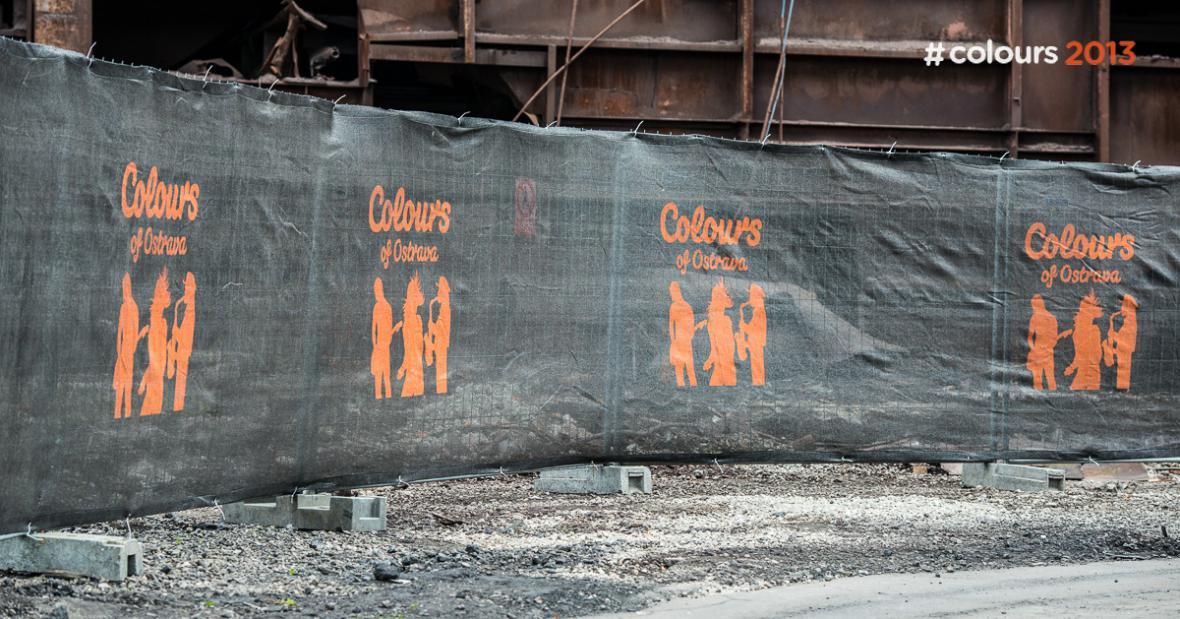 Přípravy Colours of Ostrava 2013