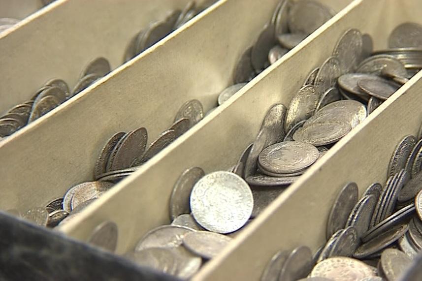 Poklad obsahoval třiadvacet kilo stříbra