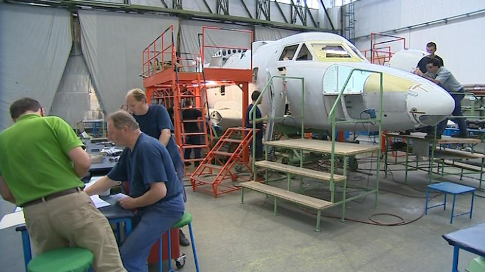 Maximální možná výroba je třicet letadel ročně