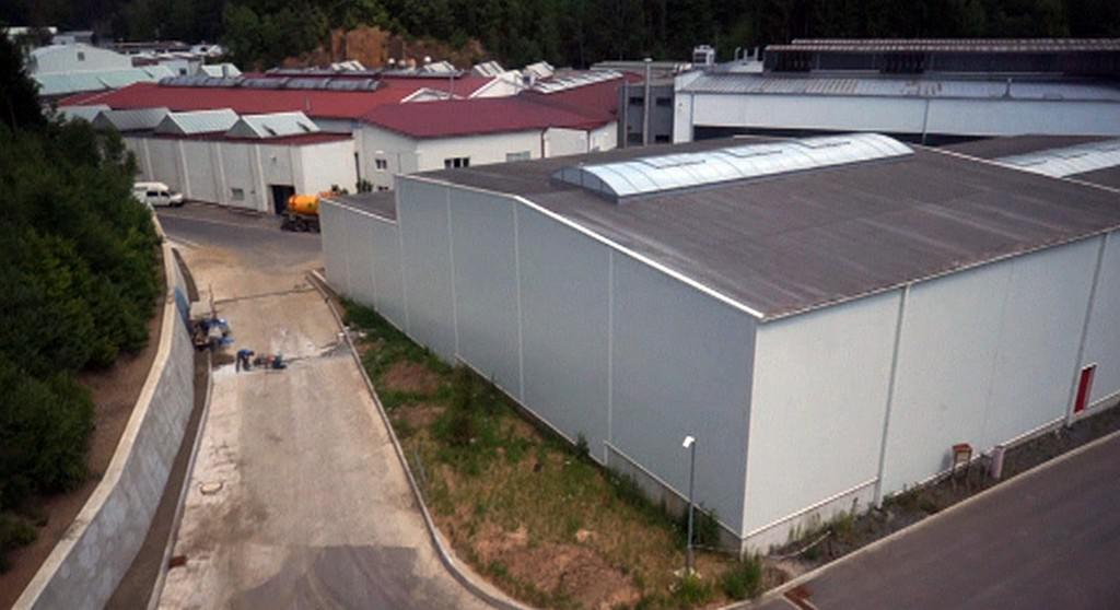 Průmyslový areál Strojmetalu Kamenice