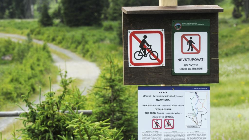Cesta přes Luzenské údolí uzavřena