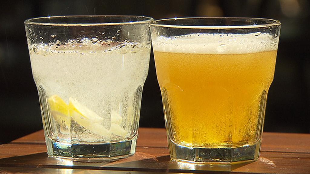 Cena alkoholických či nealkoholických nápojů