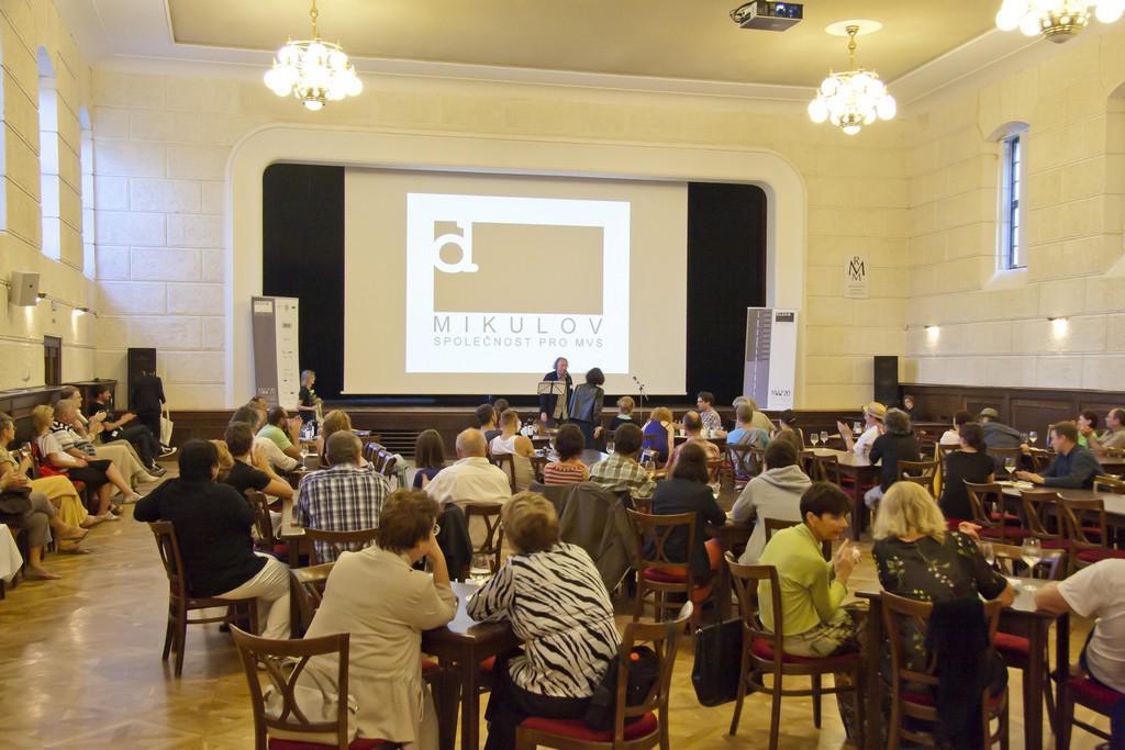 Mikulovské výtvarné sympozium 2013 / zahájení