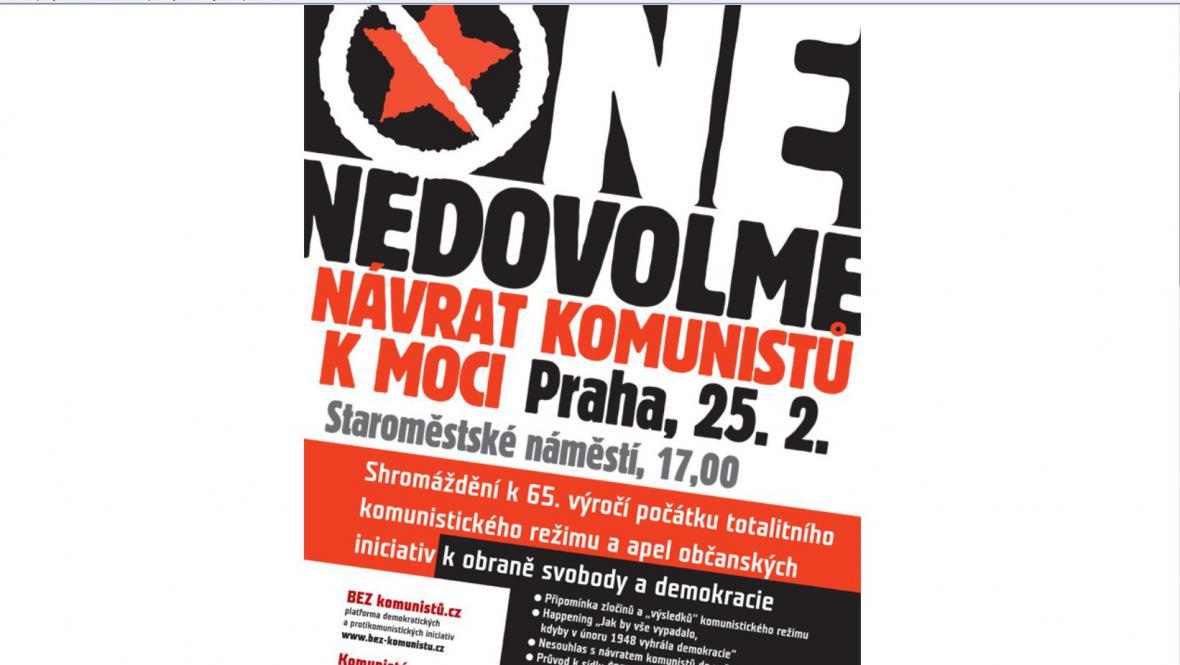Protikomunistické shromáždění