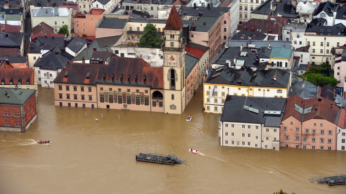 Povodně v Pasově