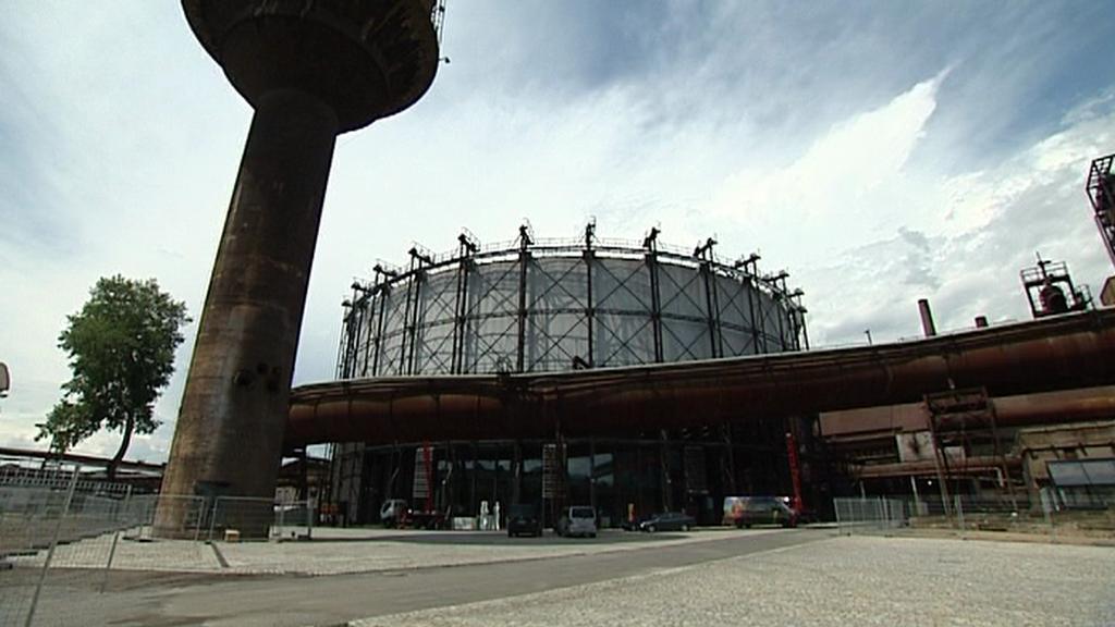 Colours of Ostrava 2012 / příprava areálu