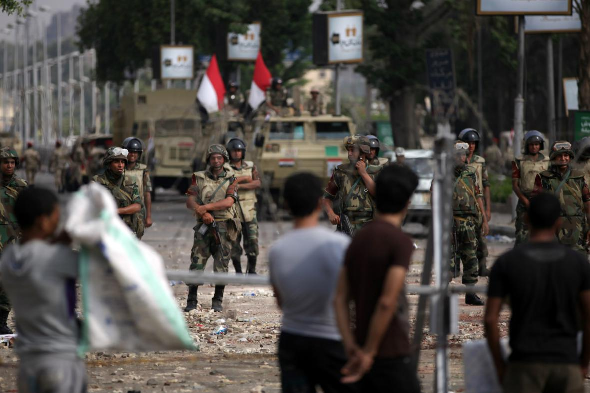 Egyptské nepokoje