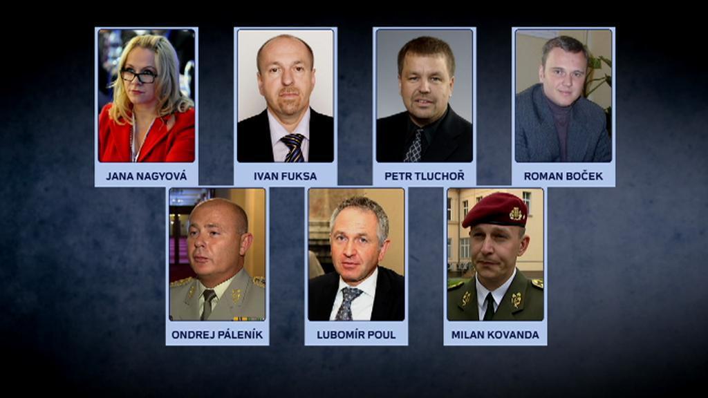 Zadržení státní úředníci