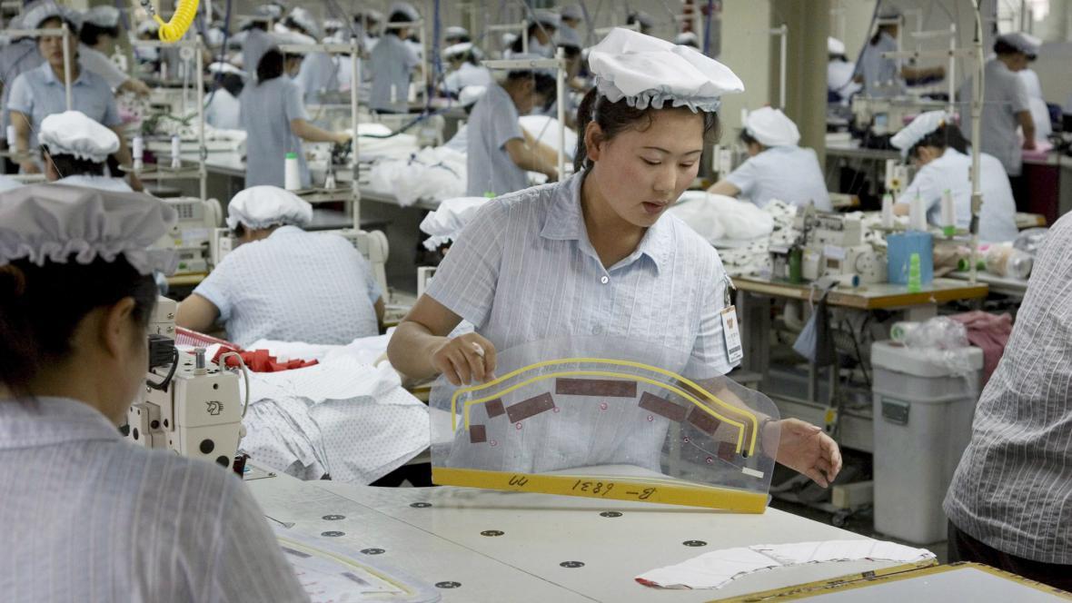 Výroba v Kesongu