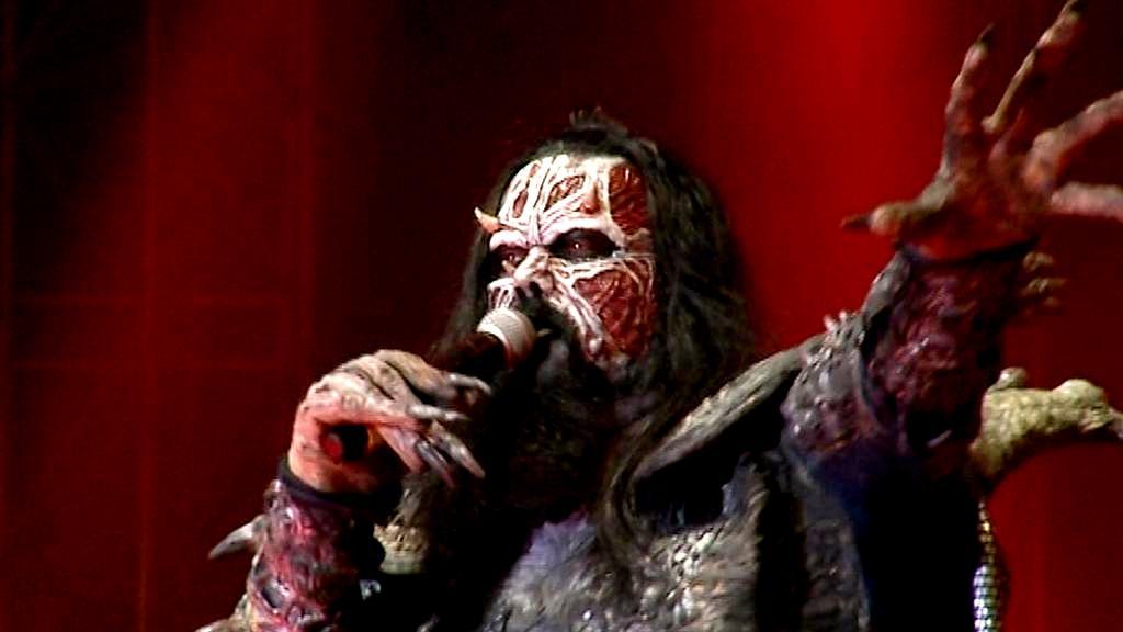 Zpěvák kapely Lordi
