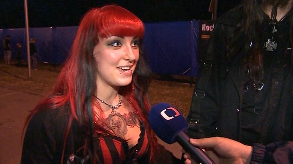 Návštěvníci festivalu Masters of Rock