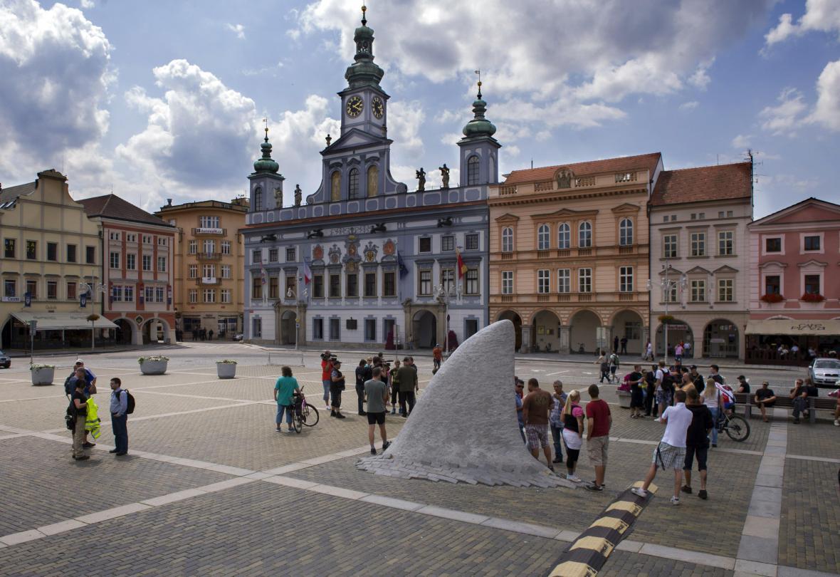Ohlášená protiromská demonstrace na náměstí Přemysla Otakara II. v Českých Budějovicích skončila neúspěchem.