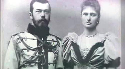 Car Mikuláš II. a carevna Alexandra