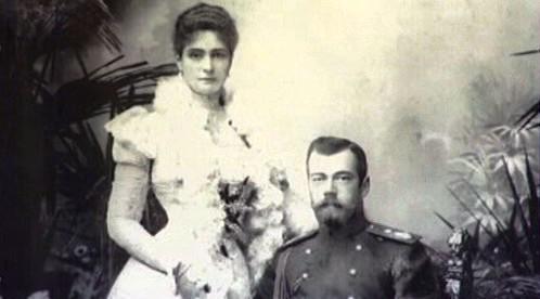 Carevna Alexandra a car Mikuláš II.