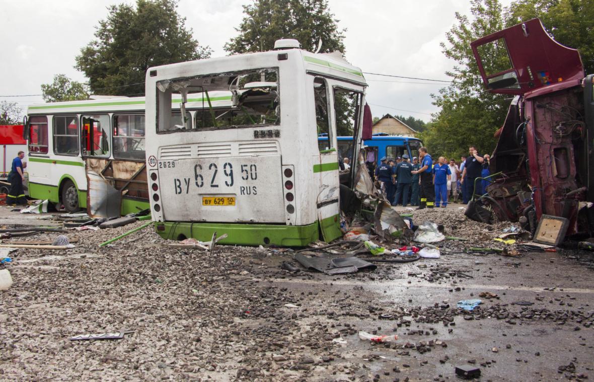 Nehoda v Moskvě
